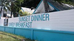 Sunset dinner lovely breakfast