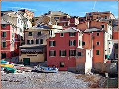Boccadasse : Osteria 'creuza de ma' e il borgo marinaro