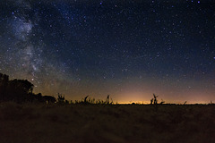 Perseiden in Milchstraße