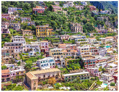 Positano Filter Painting