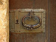 das Türschloß