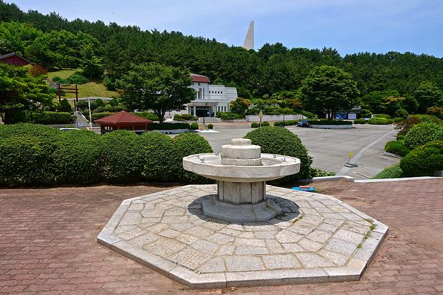 Naval monument, Okpo