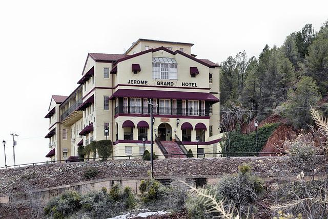 The Jerome Grand Hotel – Hill Street, Jerome, Arizona