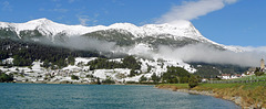 Italy - South Tyrol, Reschensee and Piz Lad