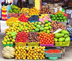 Meksika foiro: fruktoj kaj legomoj