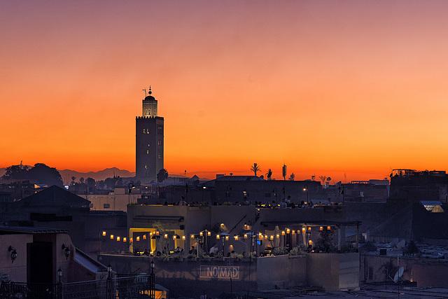 Sunset Koutoubia