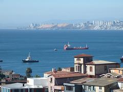 bahía de Valparaíso
