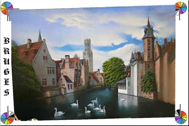 Bruges (B) en tableau