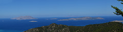 Islands of Aegean Sea (View from Rhodes)