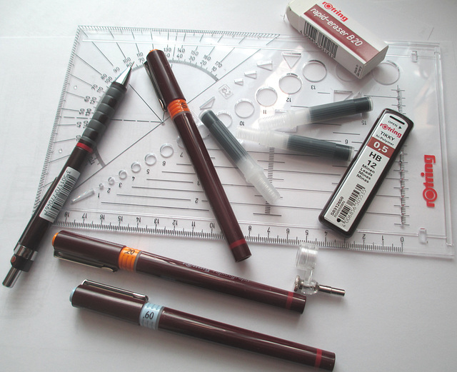 New Box of Technical Drawing Tools