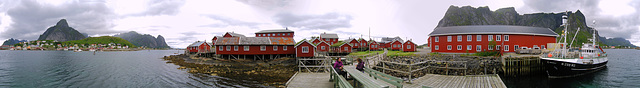 Reine rorbu houses