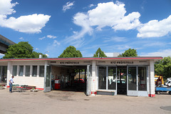 Oldtimer Tankstelle