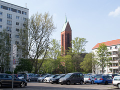 Berlin Karl Marx Allee adjacent (#2550)