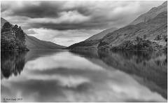 Loch Shiel Long Exposure Mono