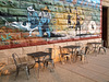 Western tables and chairs / Tables et chaises du Far West