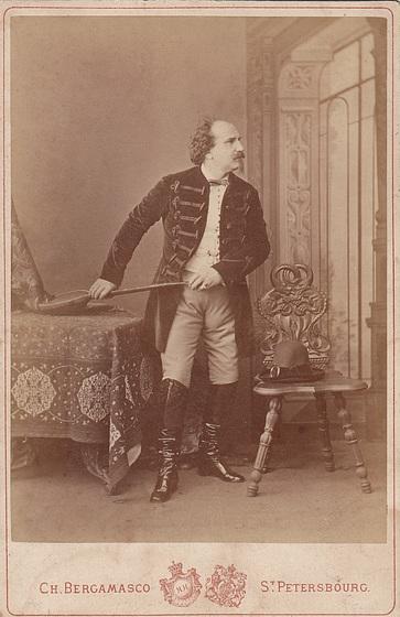 Emilio Naudin by Bergamasco