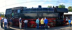 Open Dag Werkplaats Leidschendam 2014 – Steam engine 65018 of the Stoom Stichting Nederland