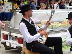 Francia - Marciac - il mercato in musica !