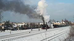 Bahnhofsausfahrt Thalheim/Erzgebirge