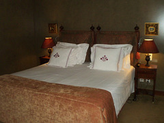 Hotel room at Calçada House.