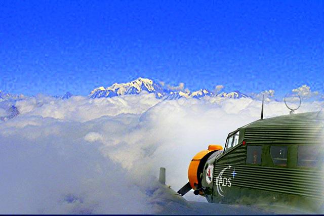 En direction du Mont Blanc