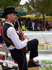 musique au marché
