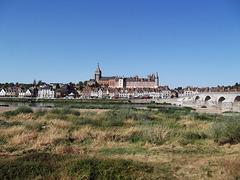 Ville de Gien, Loiret, France