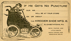 If He Gets No Puncture—Kreider Shoe Manufacturing Company, Elizabethtown, Pa.