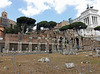 The Forum of Julius Caesar in Rome, July 2012