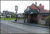 The Crown bus stop
