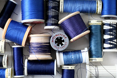 Sewing Blue