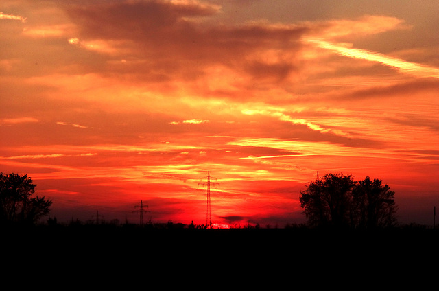 DE - Weilerswist - Sunset