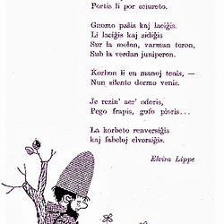Elvira Lippe: Fabeleto (rimpoemo )