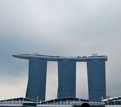 le Marina Bay Sands, à Singapour