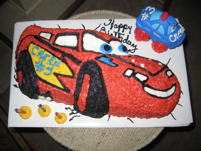 My Cakes ~~ Vrooom  Vrooom! for a young child..:)