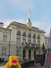 Sunny at Tampere City Hall