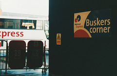 Buskers Corner, Digbeth Coach Station - 4 May 2004