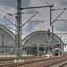 Gleisanlagen am Dresdner Hbf