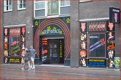 Amsterdam - red light quarter - (543)