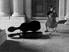 Un musicien au Louvre