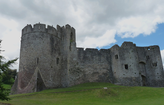 Chepstow Castle- Marten's Tower and Outer Gatehouse