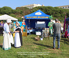 Seaford Museum's stand  - Seaford Mayor's Charities Festival 2021