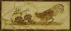 ein kleines Fresco in Pompei
