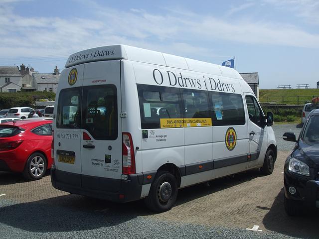 DSCF0203 O Ddrws I Ddrws CN12 DFP - Llŷn Coastal Bus/Bws Arfordir Llŷn