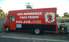 Red appetite for hot tacos !