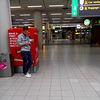 Waiting at Schiphol