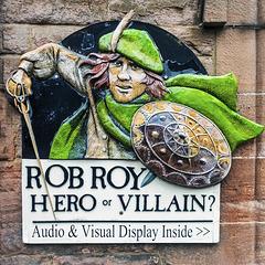 Rob Roy Display, Callander