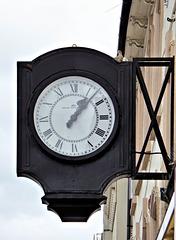 The old Allkitt's Smiths Clock