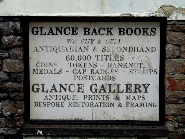 'Glance Back Books'