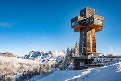Jakob's Cross in Tyrol (Austria) - Original Photo